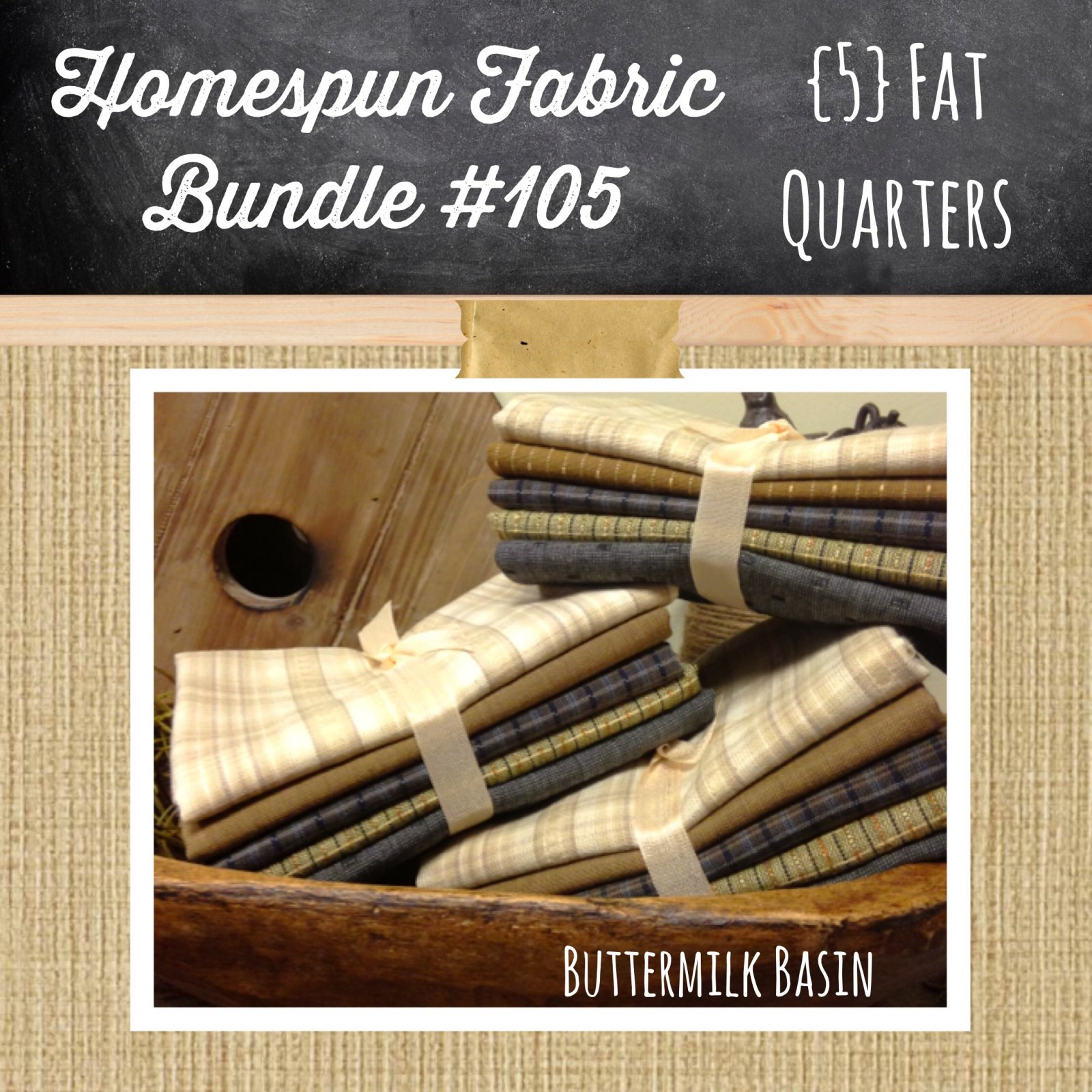 Homespun Bundle #105