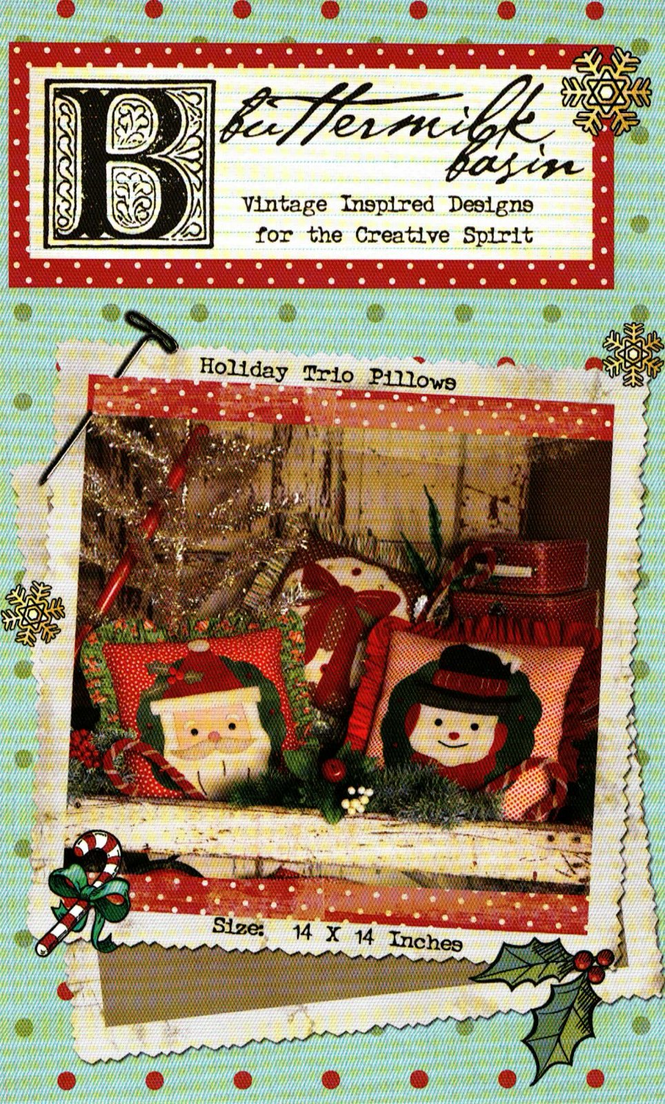 Holiday Trio Pillows * Pattern