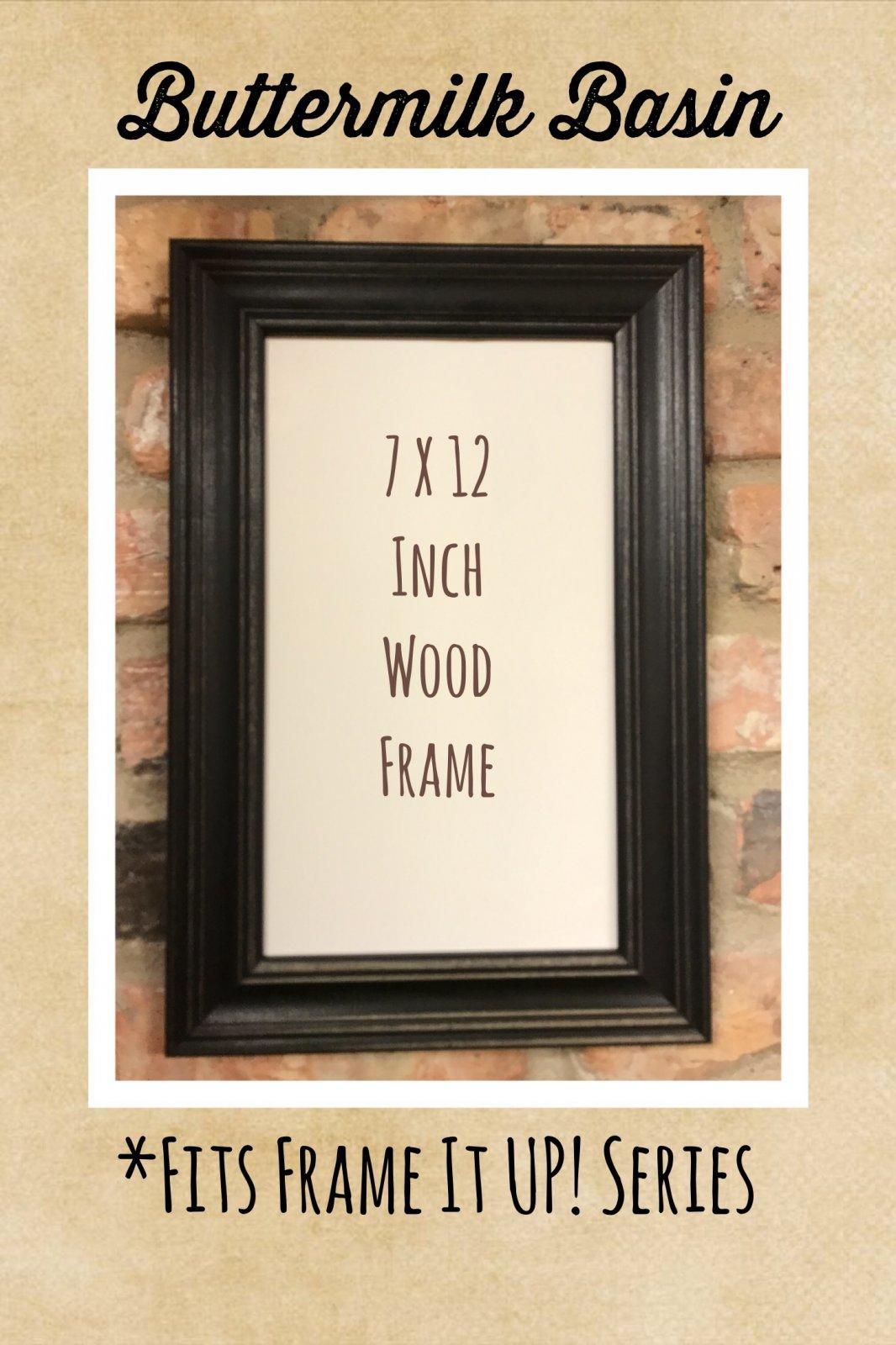 7 X 12 Handmade Frame * 19.95