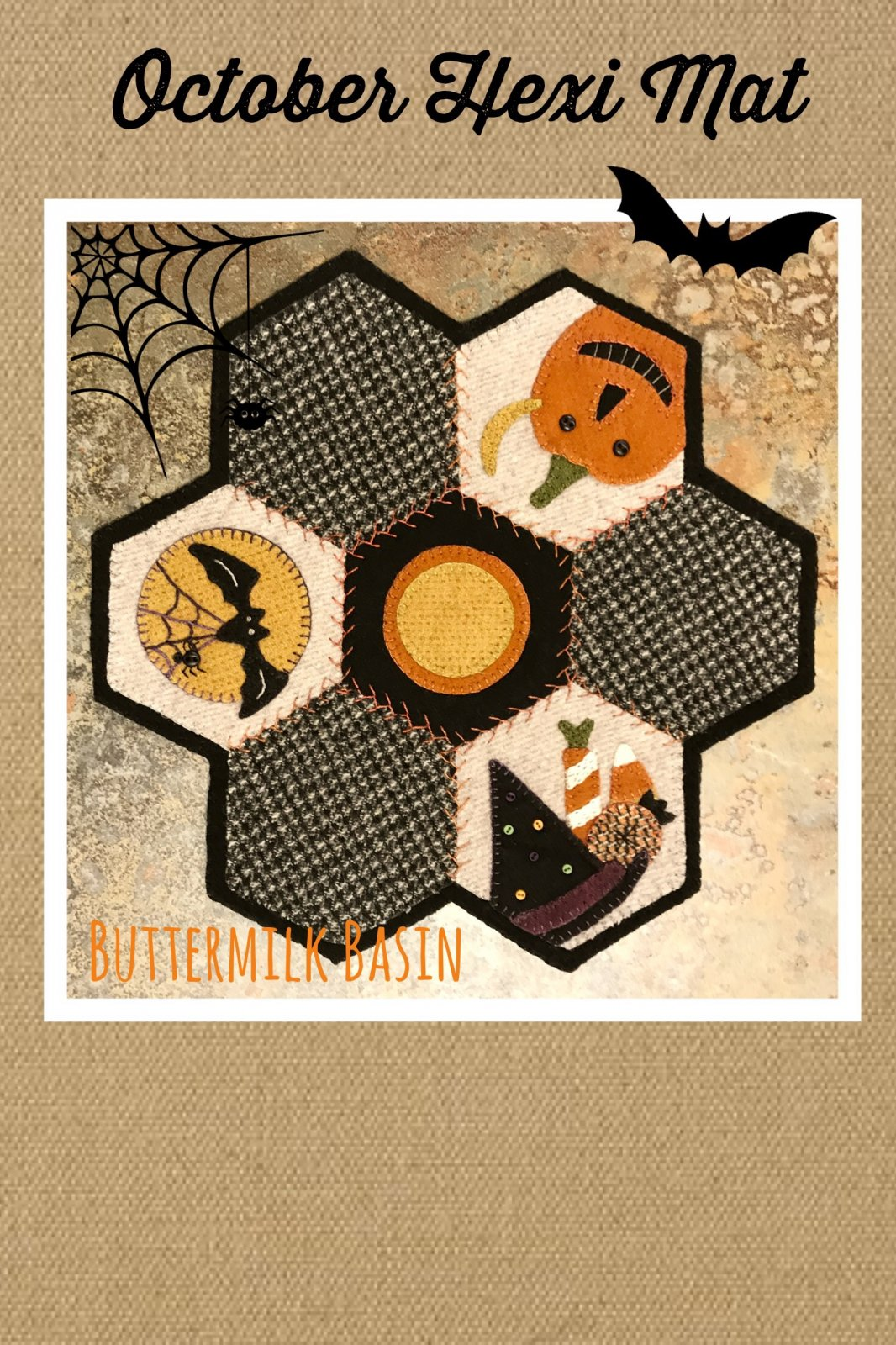 Hexi Mats thru the Year * October Pattern