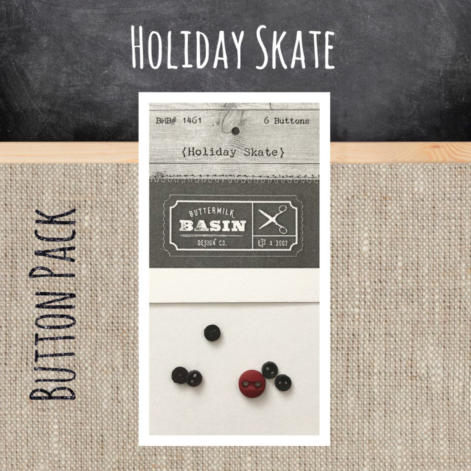 Holiday Skate BUTTON Pack