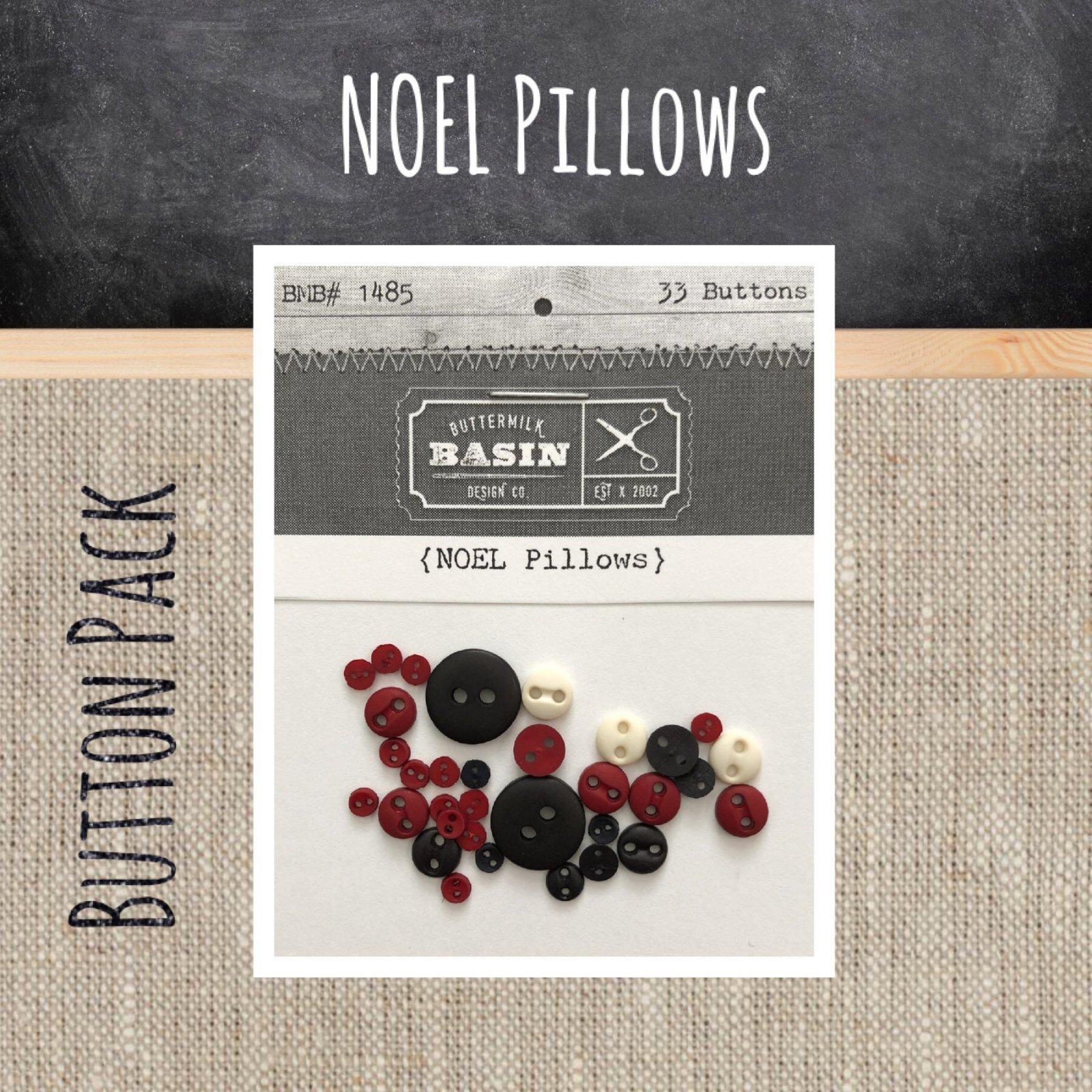 NOEL Pillows BUTTON Pack