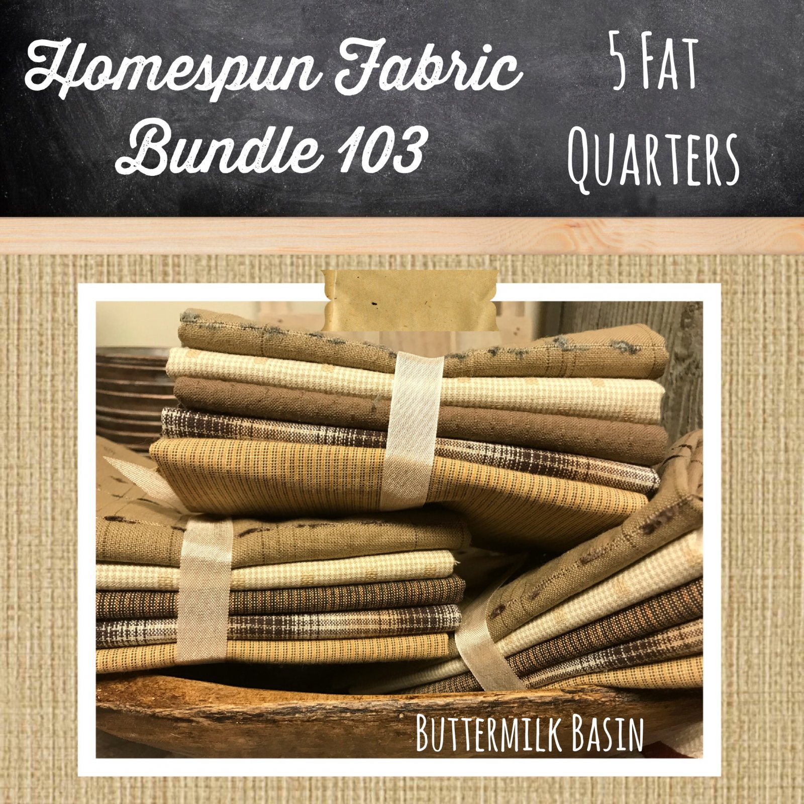 Homespun Fabric Bundle 103