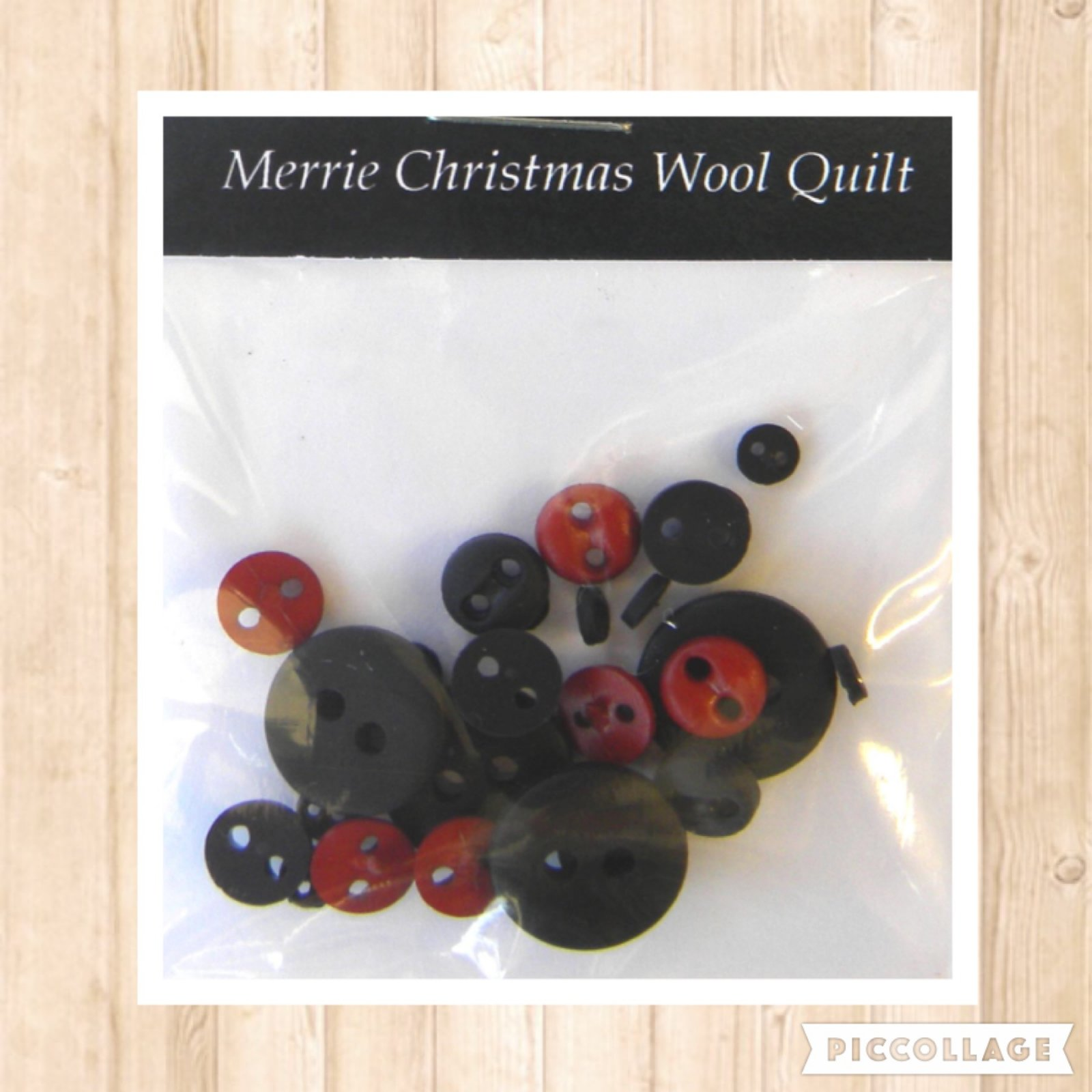 Merrie Christmas BUTTON Pack