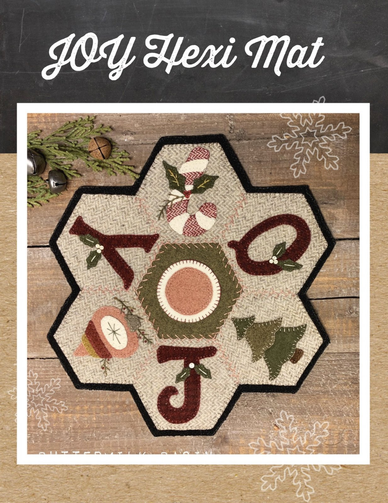 JOY Hexi Mat * Pattern & Kit