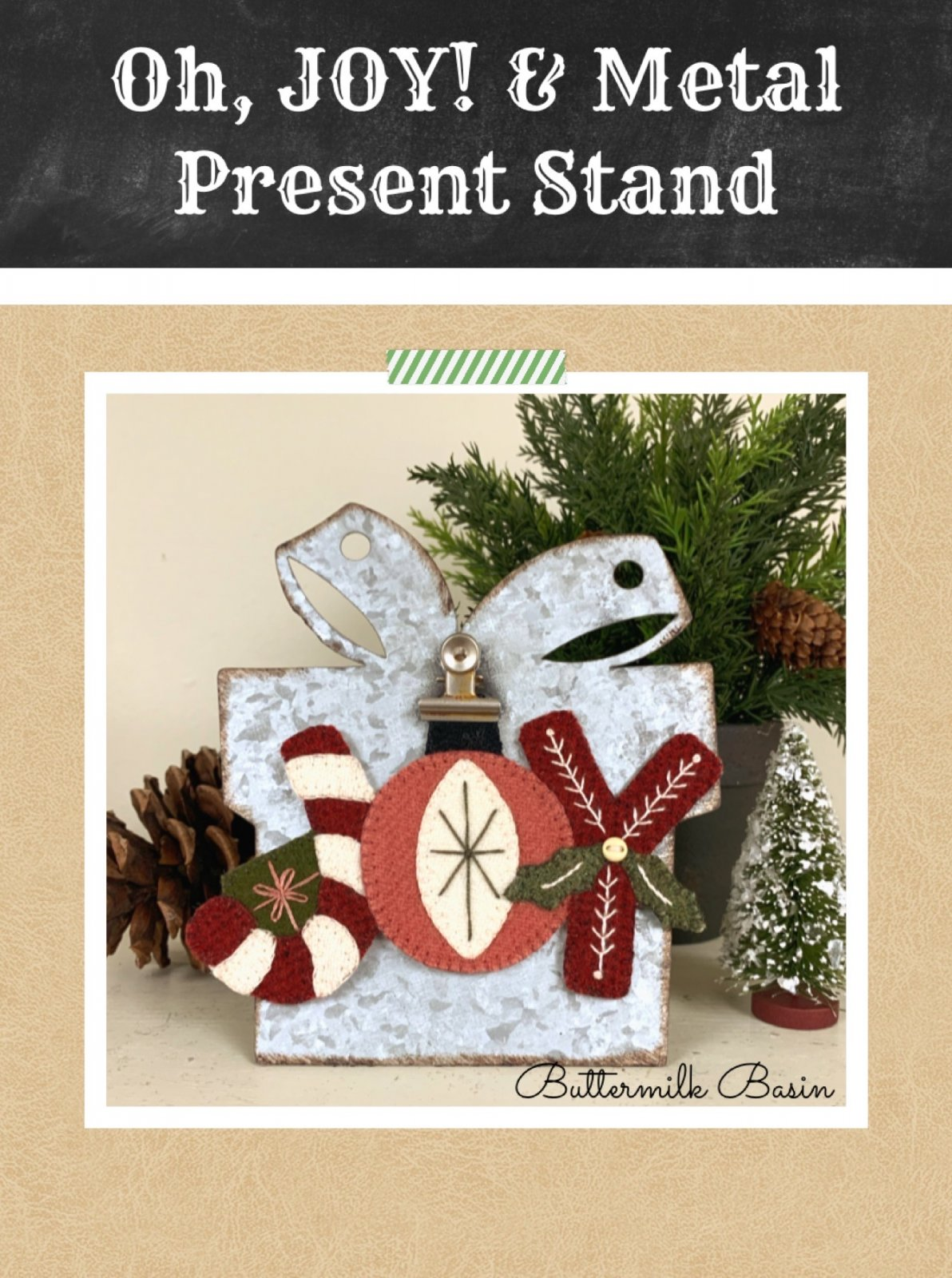 Oh, Joy! & Metal Present Stand * Kit & Pattern