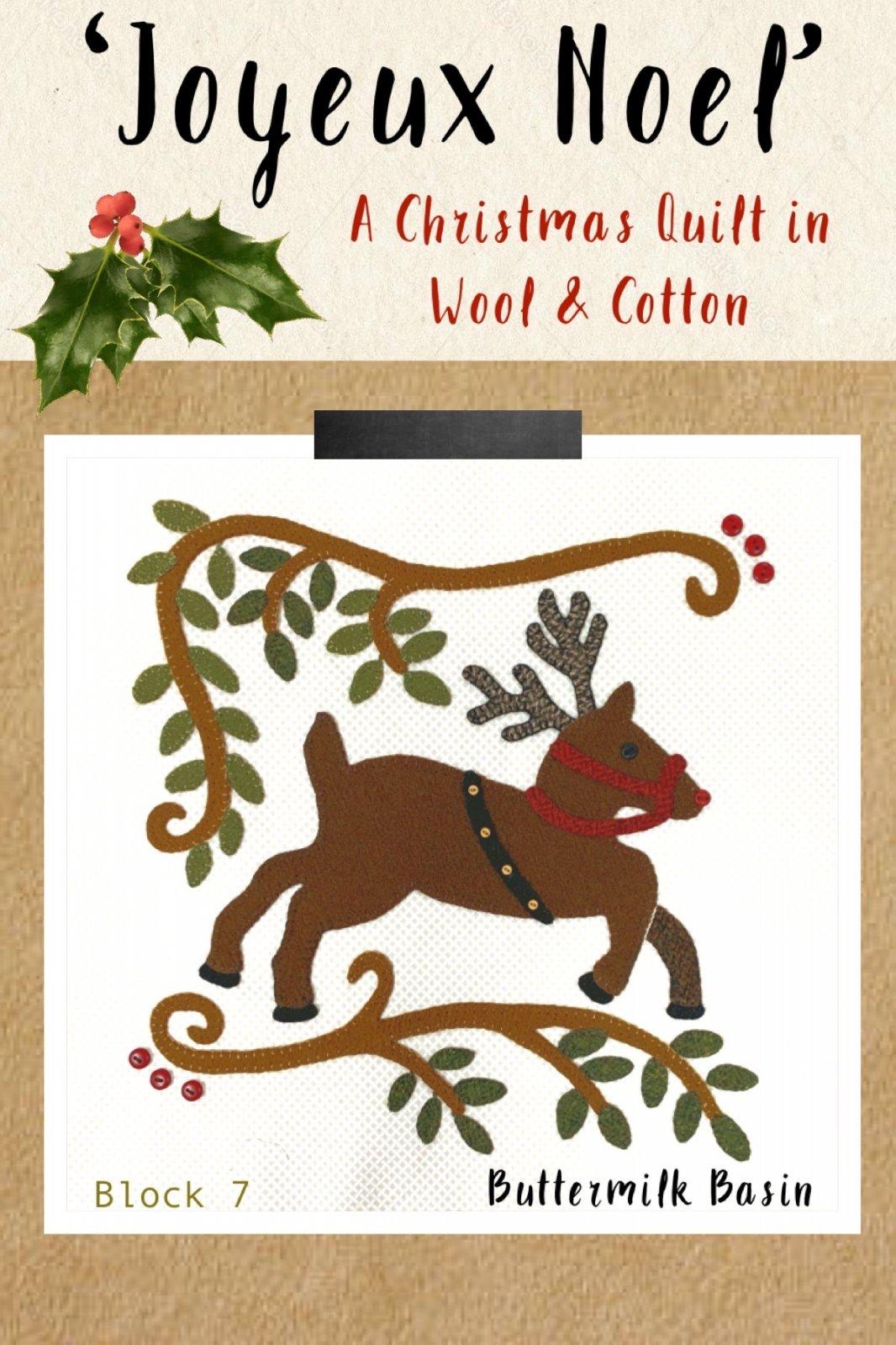 Joyeux Noel Block 7 * Kit & Pattern