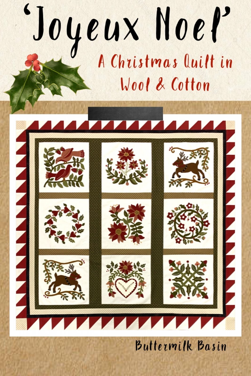 Joyeux Noel * Finisihing Kit