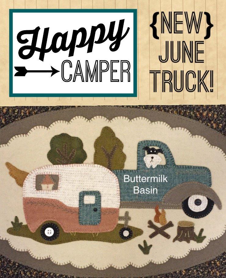Vintage Trucks Thru the Year * June KIT & Pattern