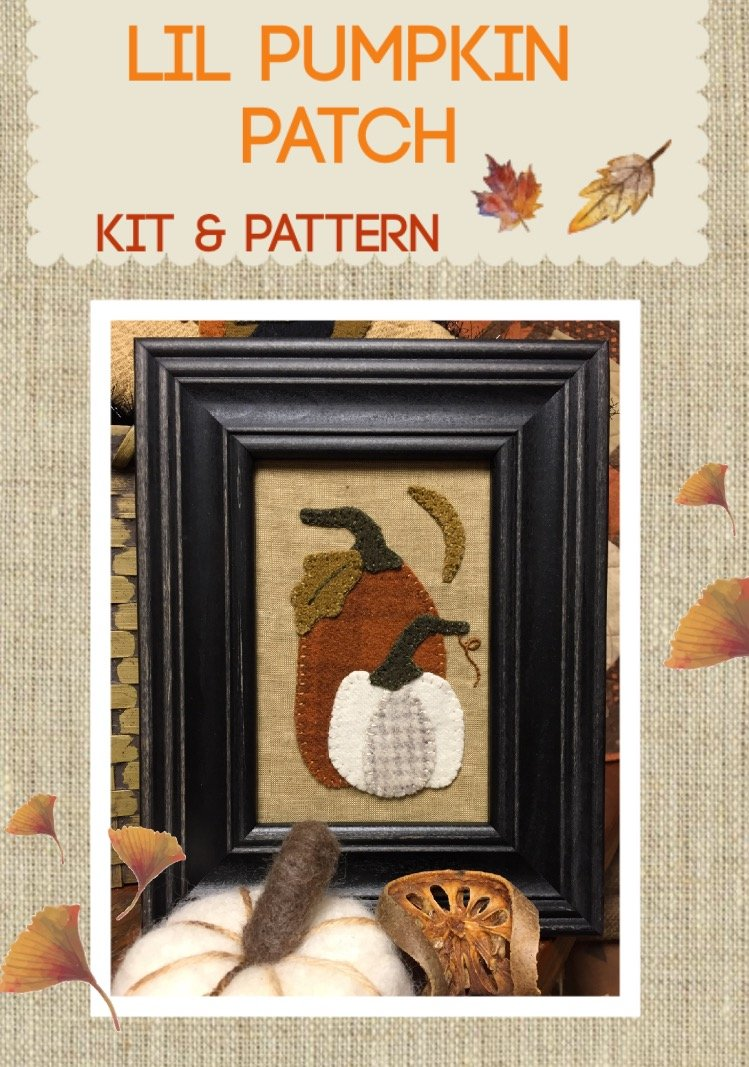 Lil Pumpkin Patch * KIT and Pattern