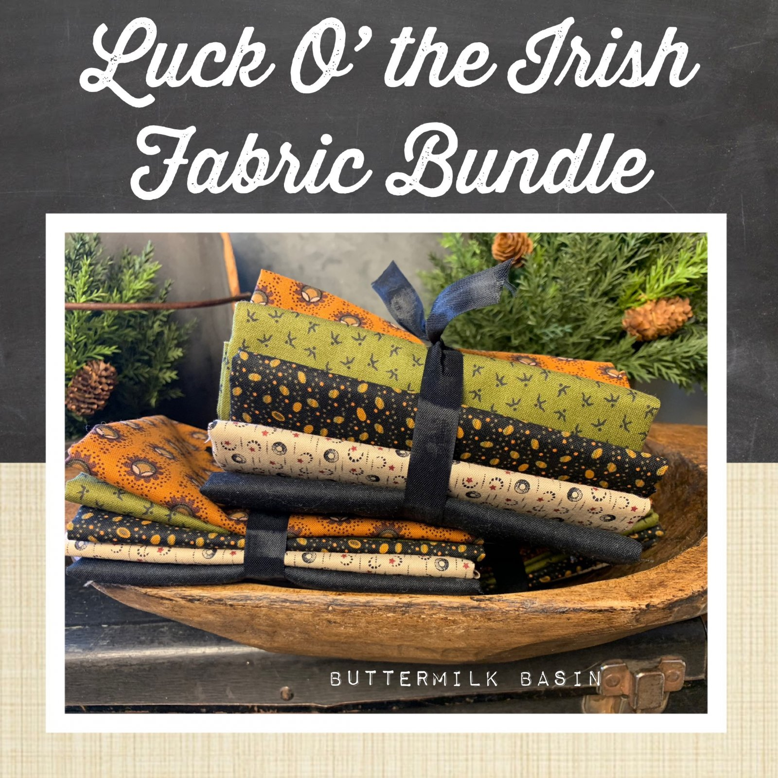 Luck O the Irish Fabric Bundle