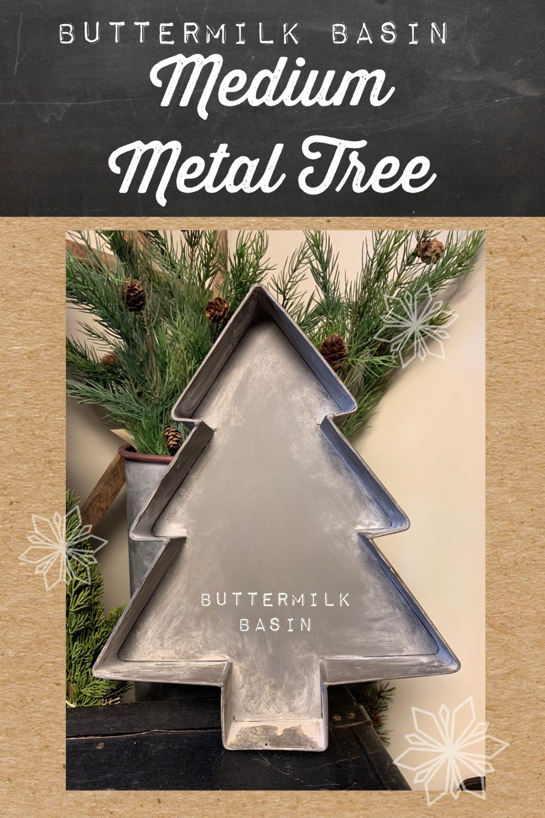 Medium Metal Tree