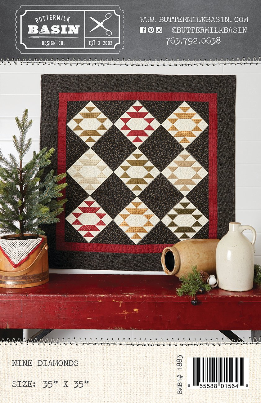 Nine Diamonds Quilt *Kit & Pattern