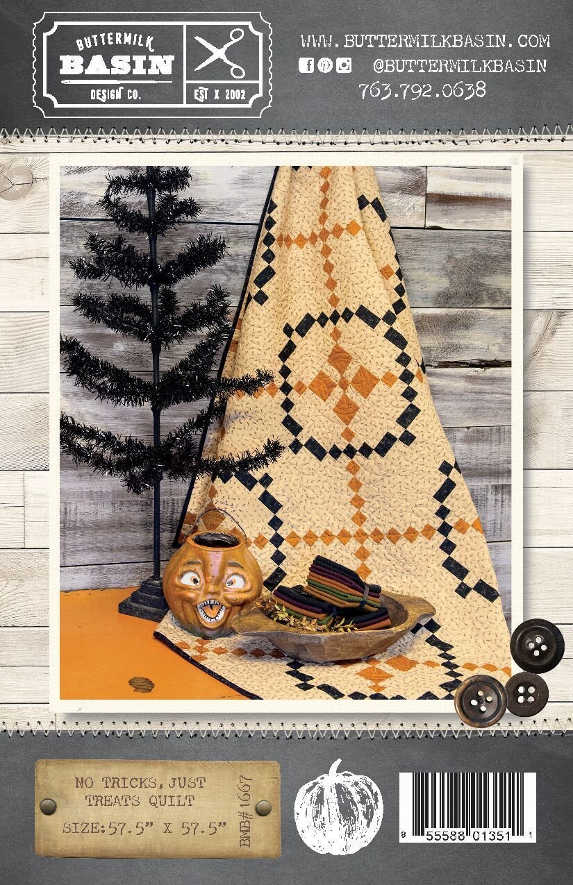 No Tricks, Just Treats Quilt Pattern