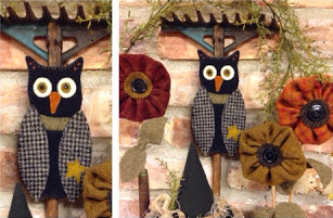 Owl Ornament * KIT and Pattern