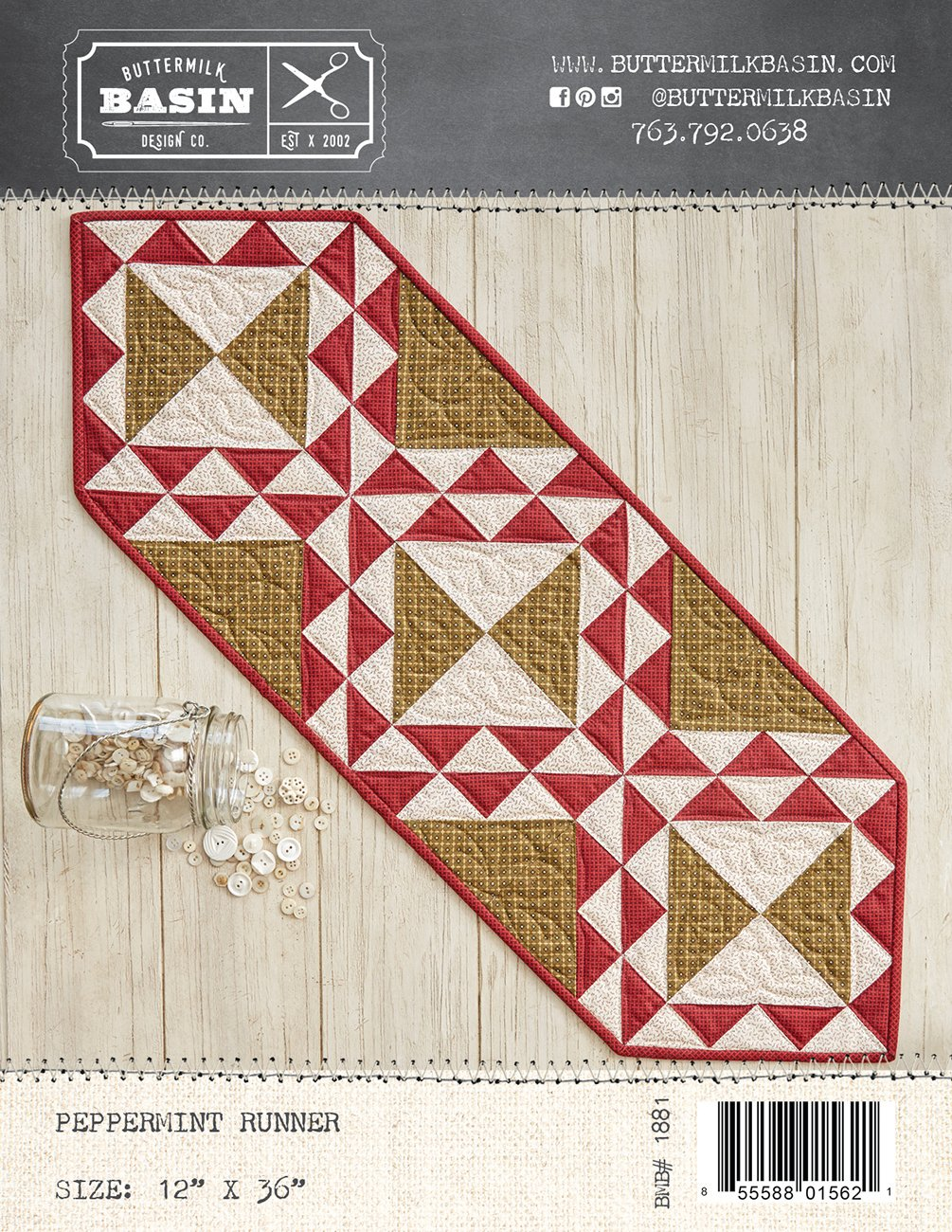 Peppermint Runner *Kit & Pattern