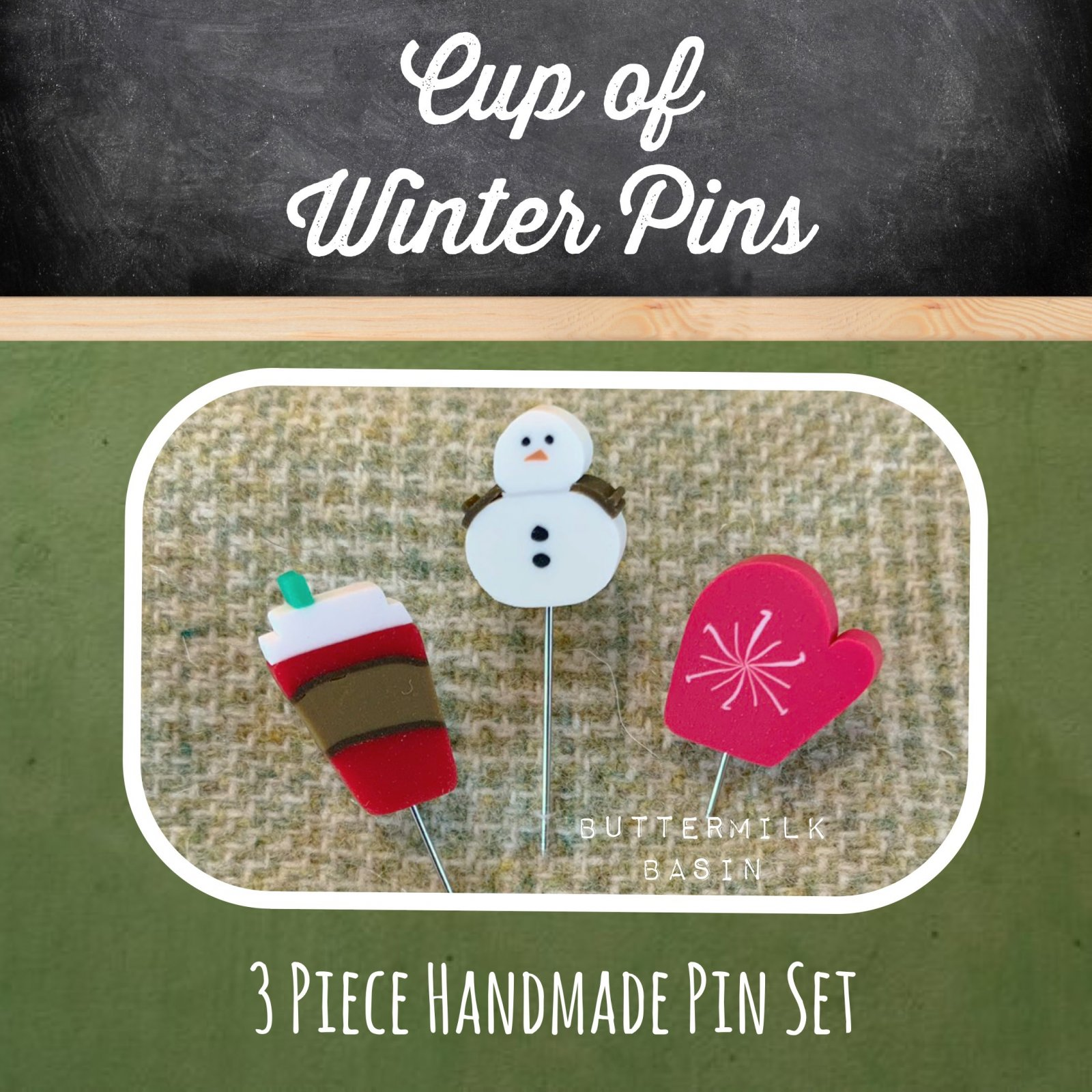 Cup of Winter Pins