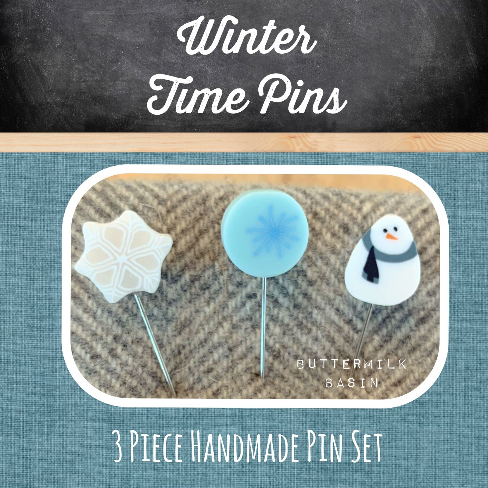 Winter Time Pins