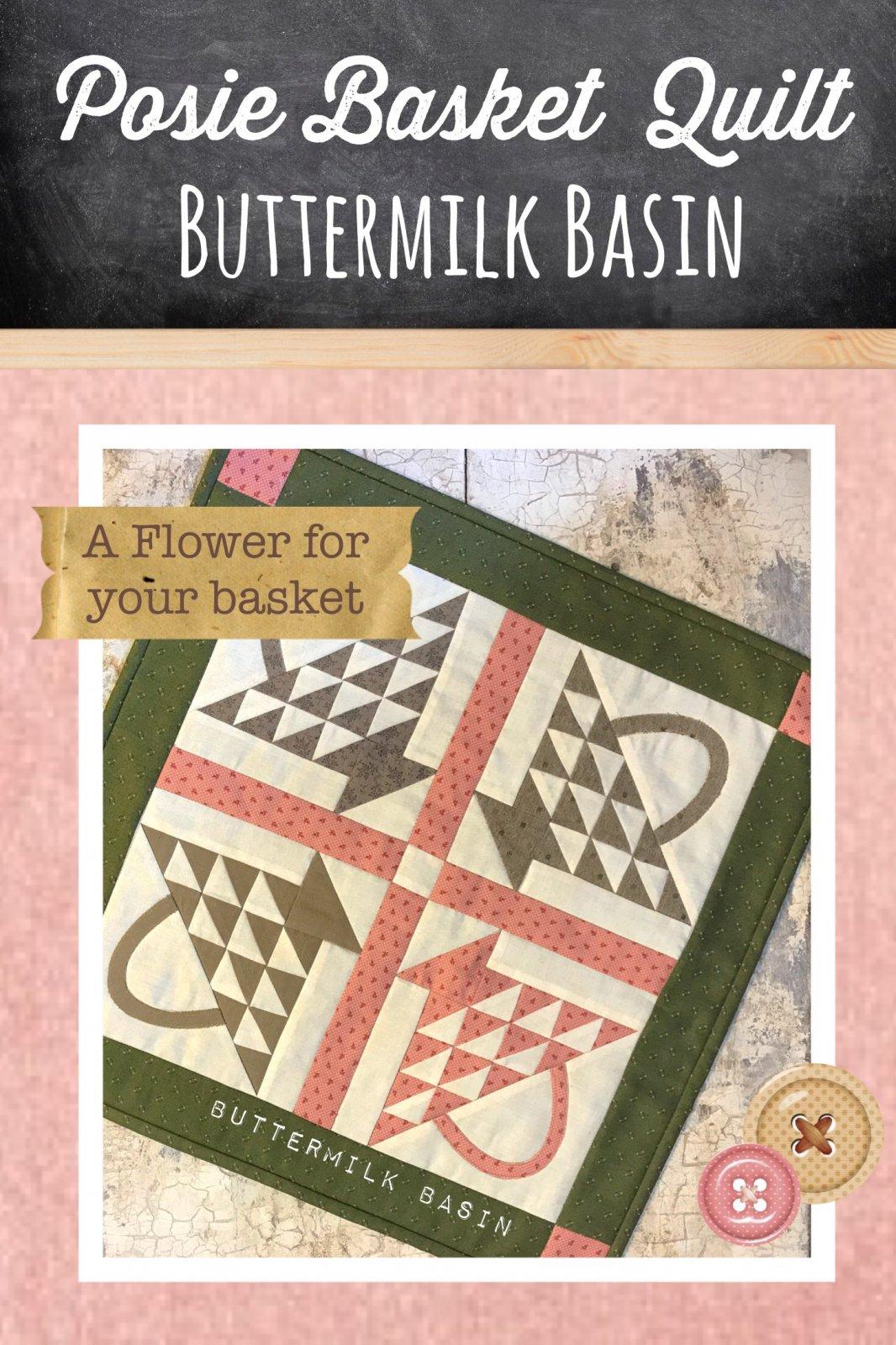 Posie Basket Quilt Pattern