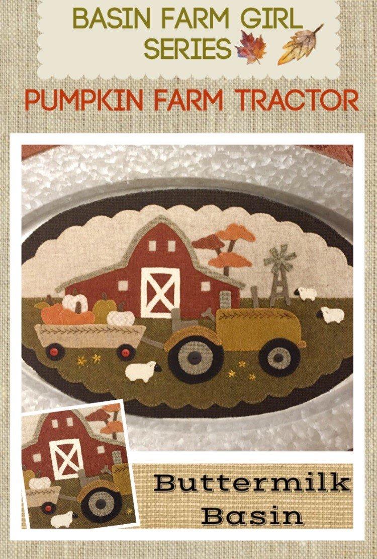 Pumpkin Farm Tractor * Pattern