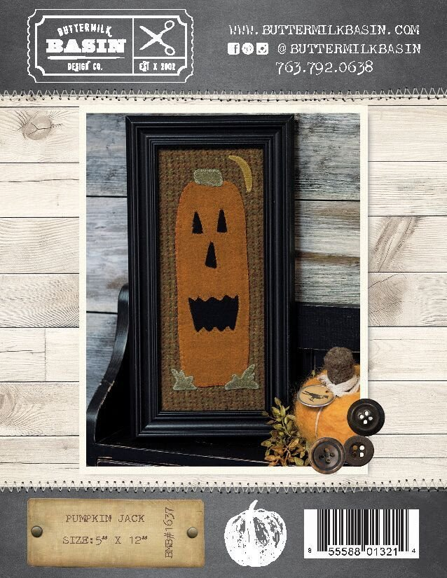 Pumpkin Jack Pattern & Kit