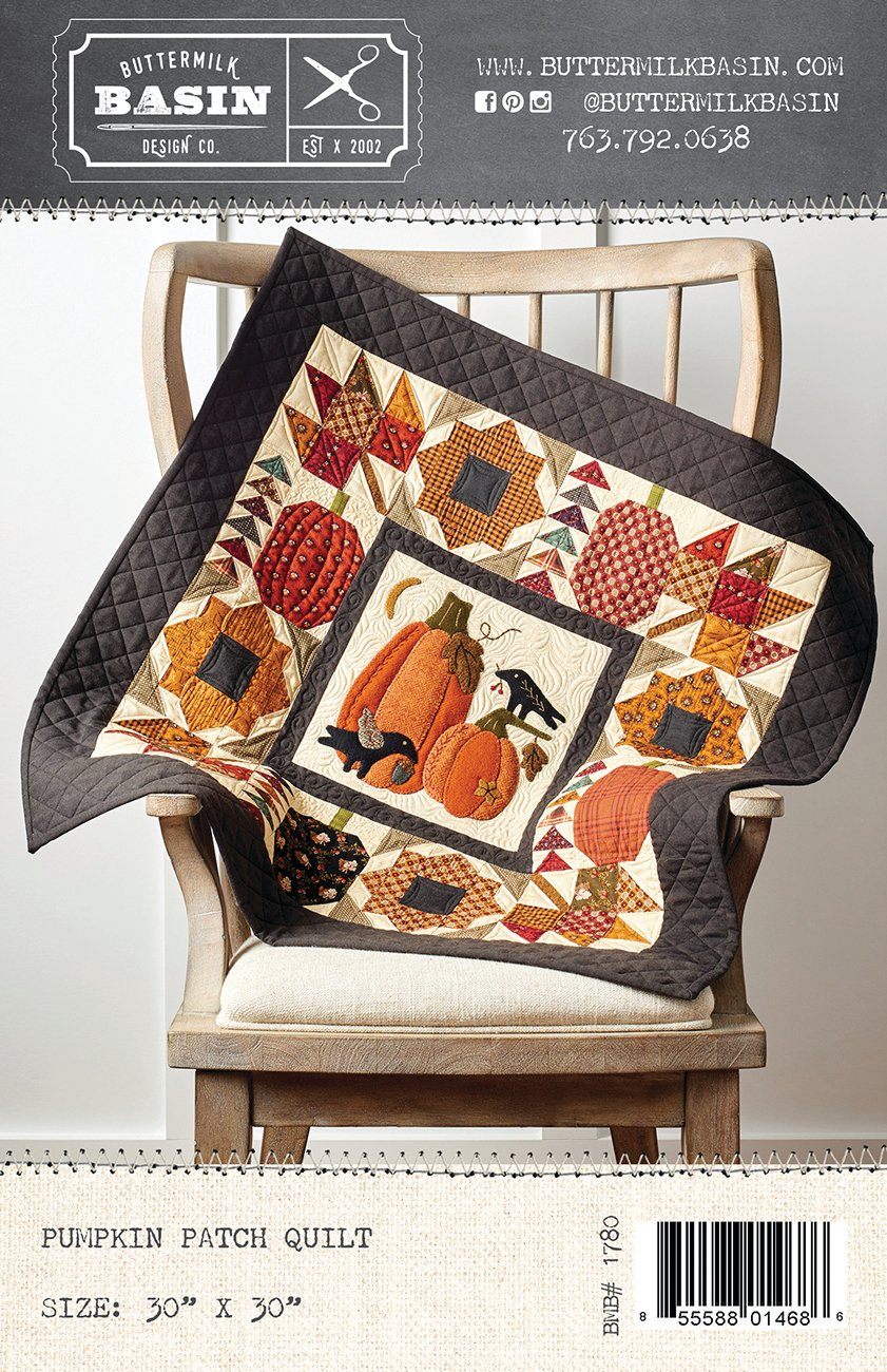 Pumpkin Patch Quilt *Pattern