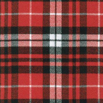 Mammoth Flannel Scarlet - 14900-93 *1/2 yard