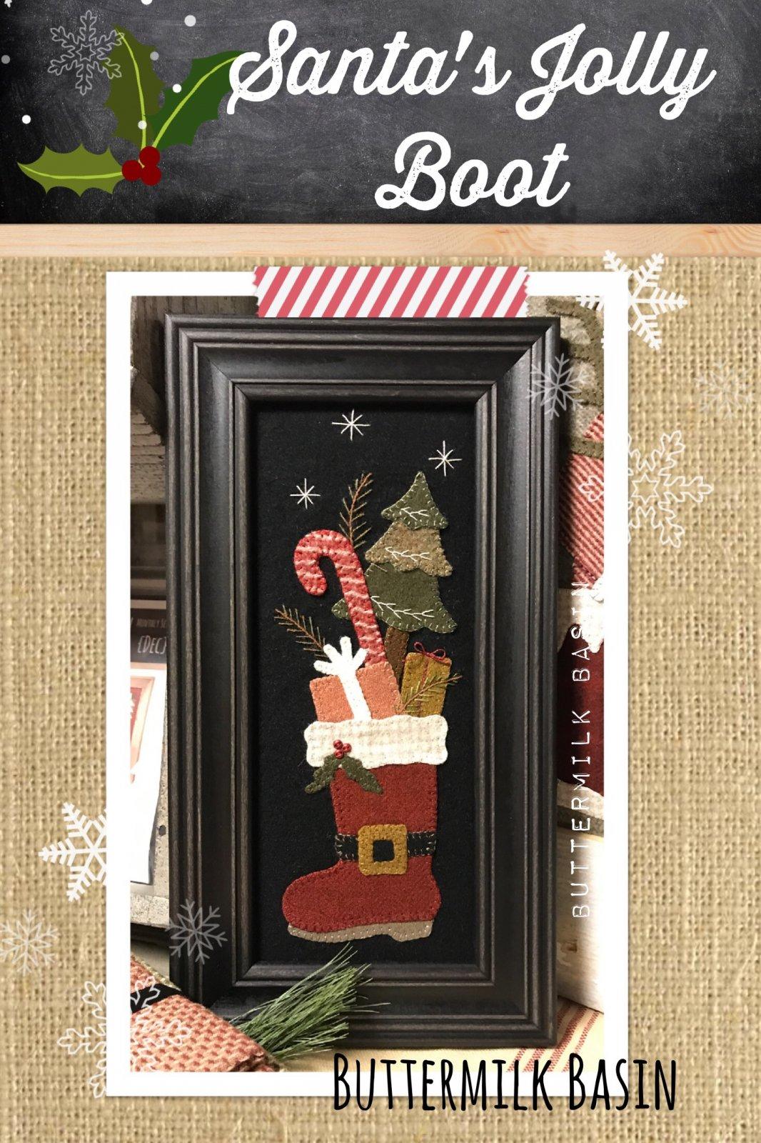 Santa's Jolly Boot KIT & Pattern