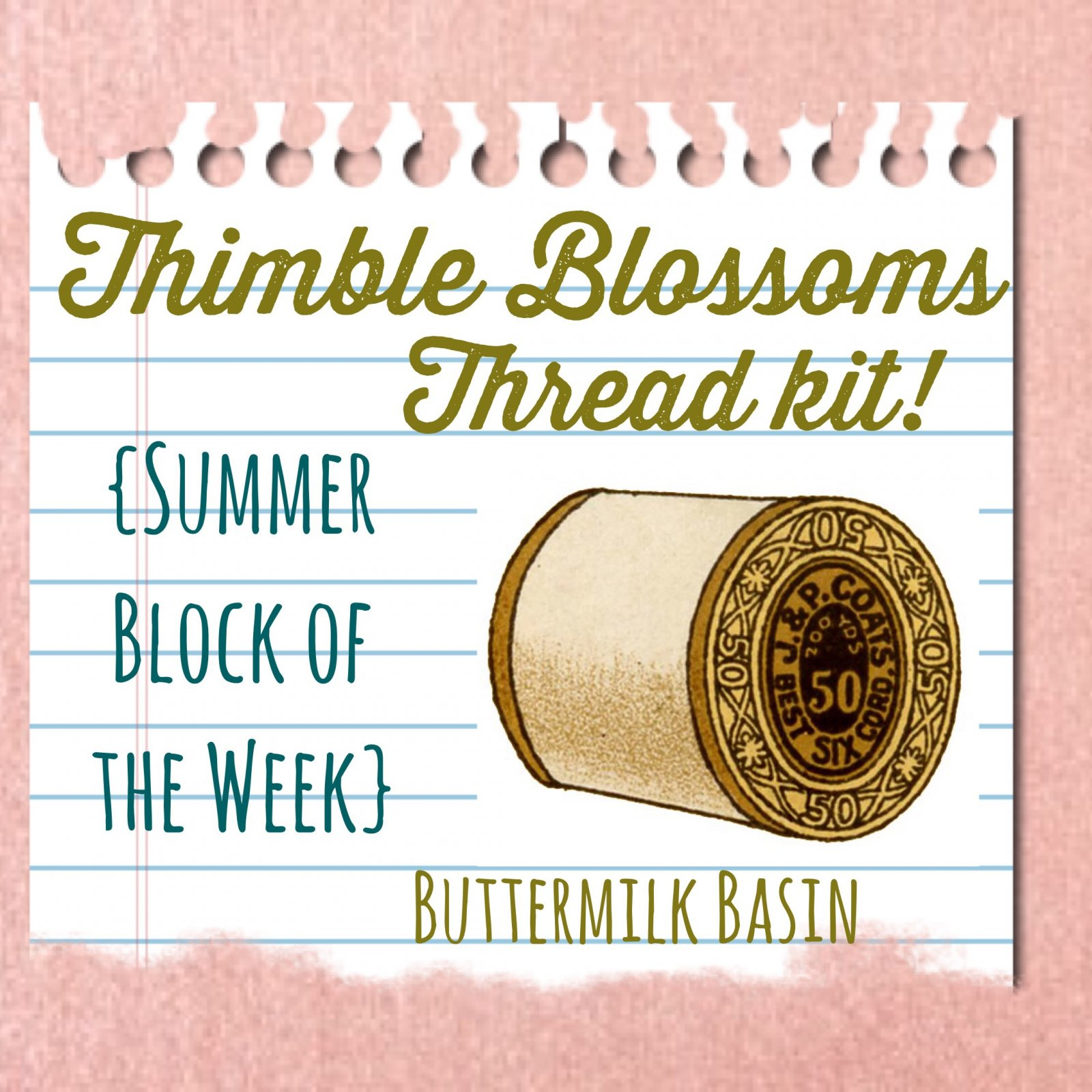 Thimble Blossoms Starter Thread Kit
