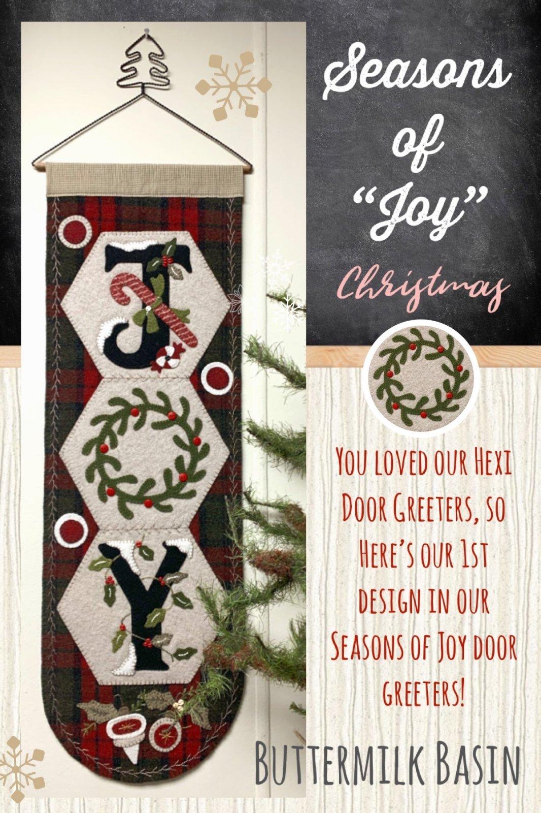 Seasons Of Joy * Christmas * Kit & Pattern