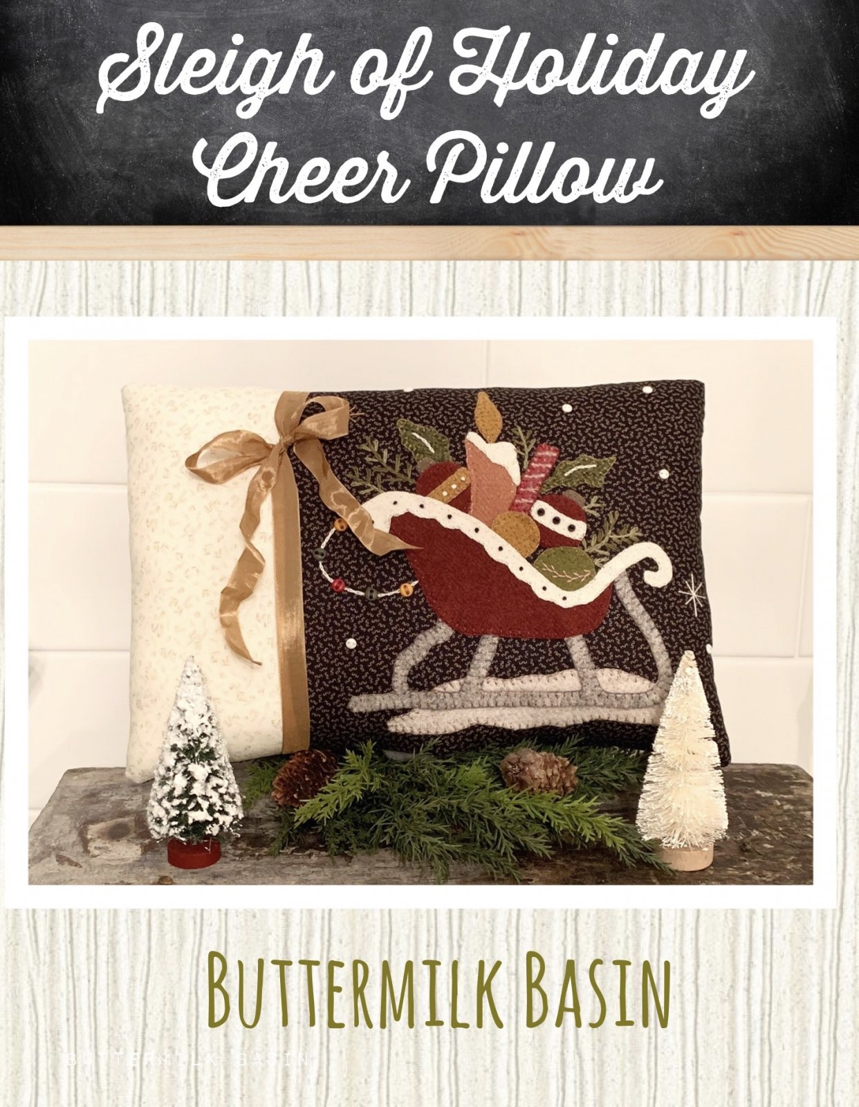 Sleigh of Holiday Cheer * KIT & Pattern