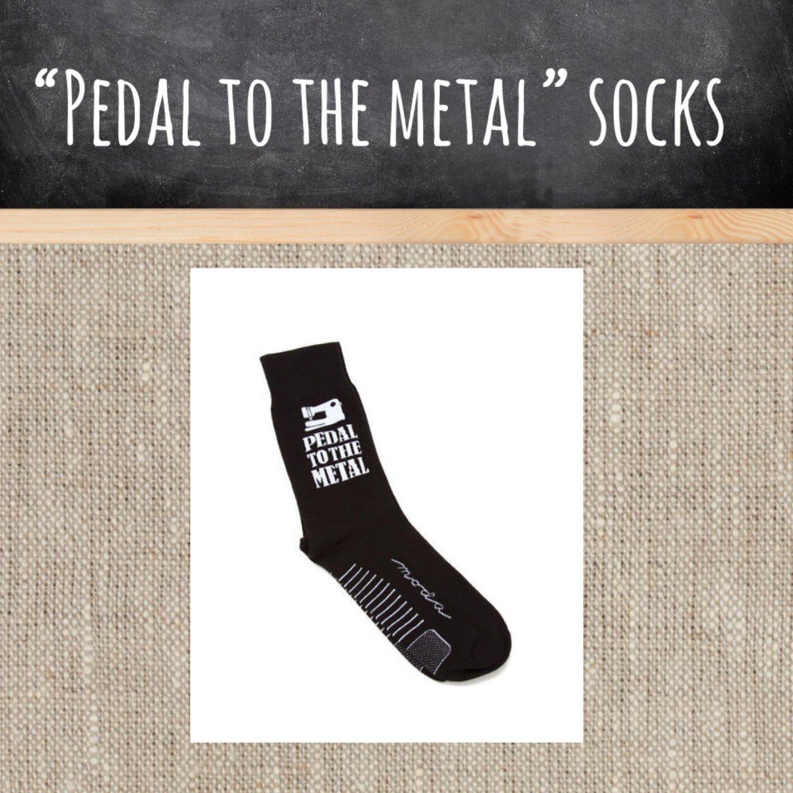 Pedal to the Metal Socks