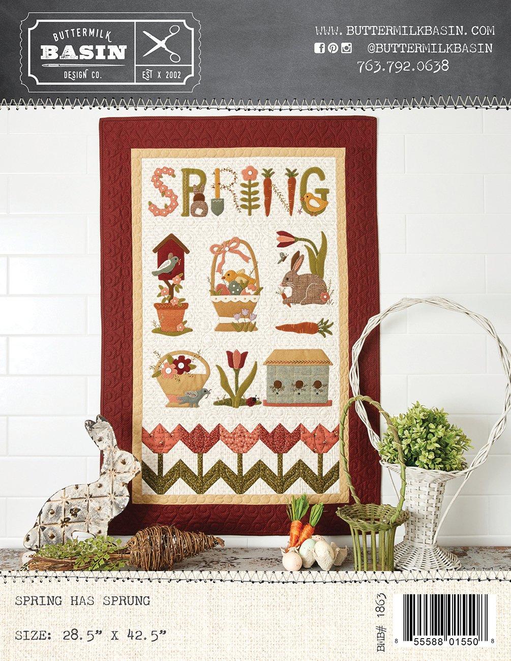 Spring Has Sprung Quilt * Pattern
