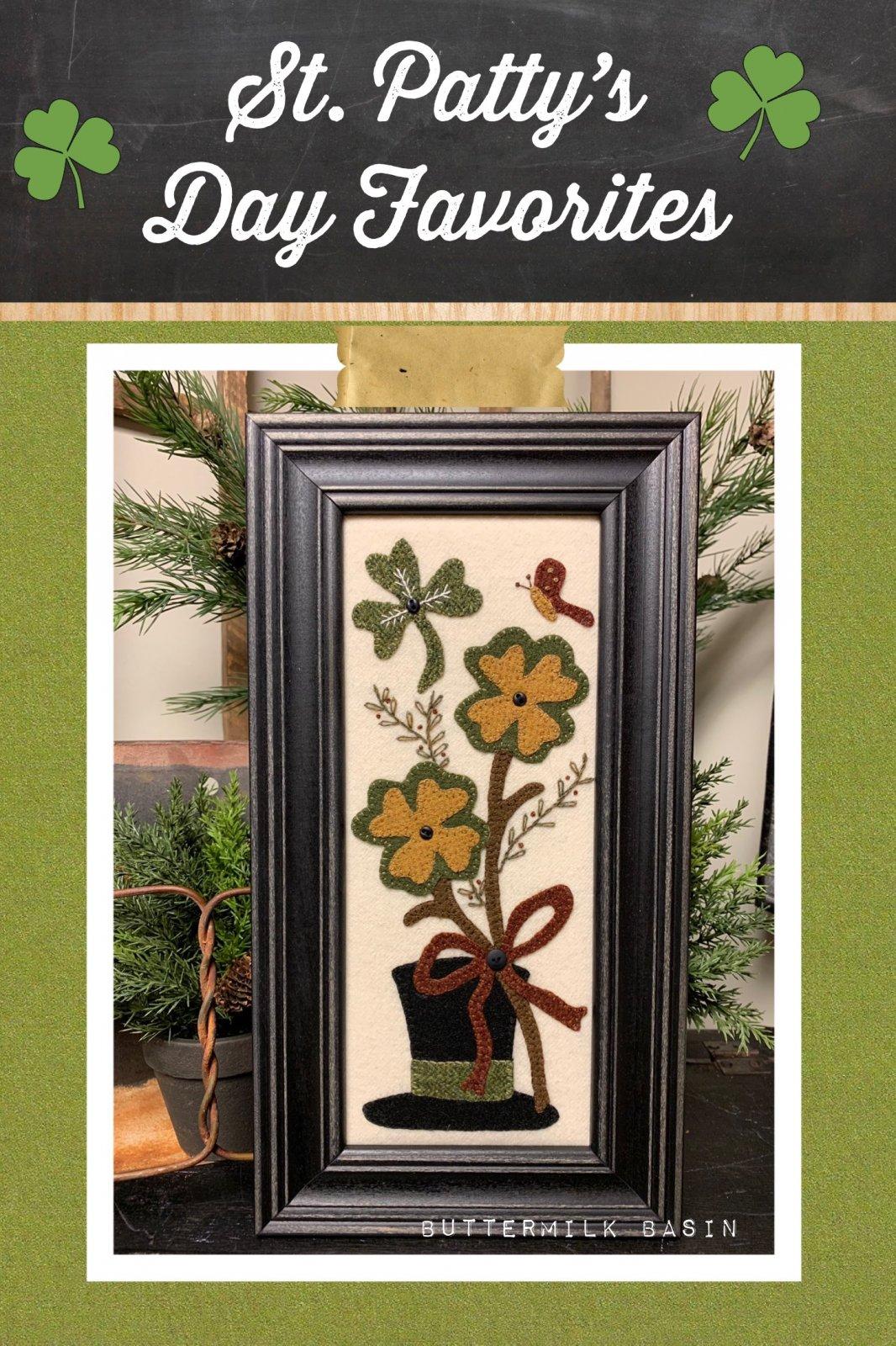 St. Patty's Day Favorites * Pattern & Kit