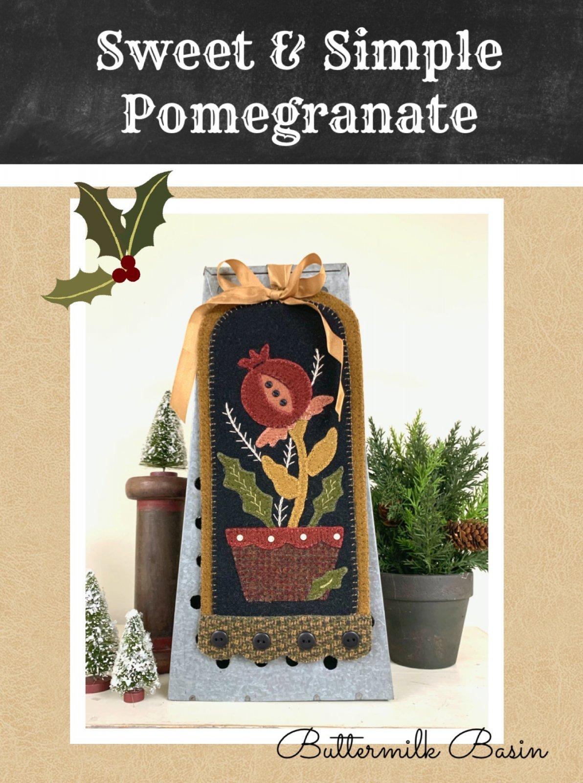 Sweet & Simple * Pomegranate * Kit & Pattern
