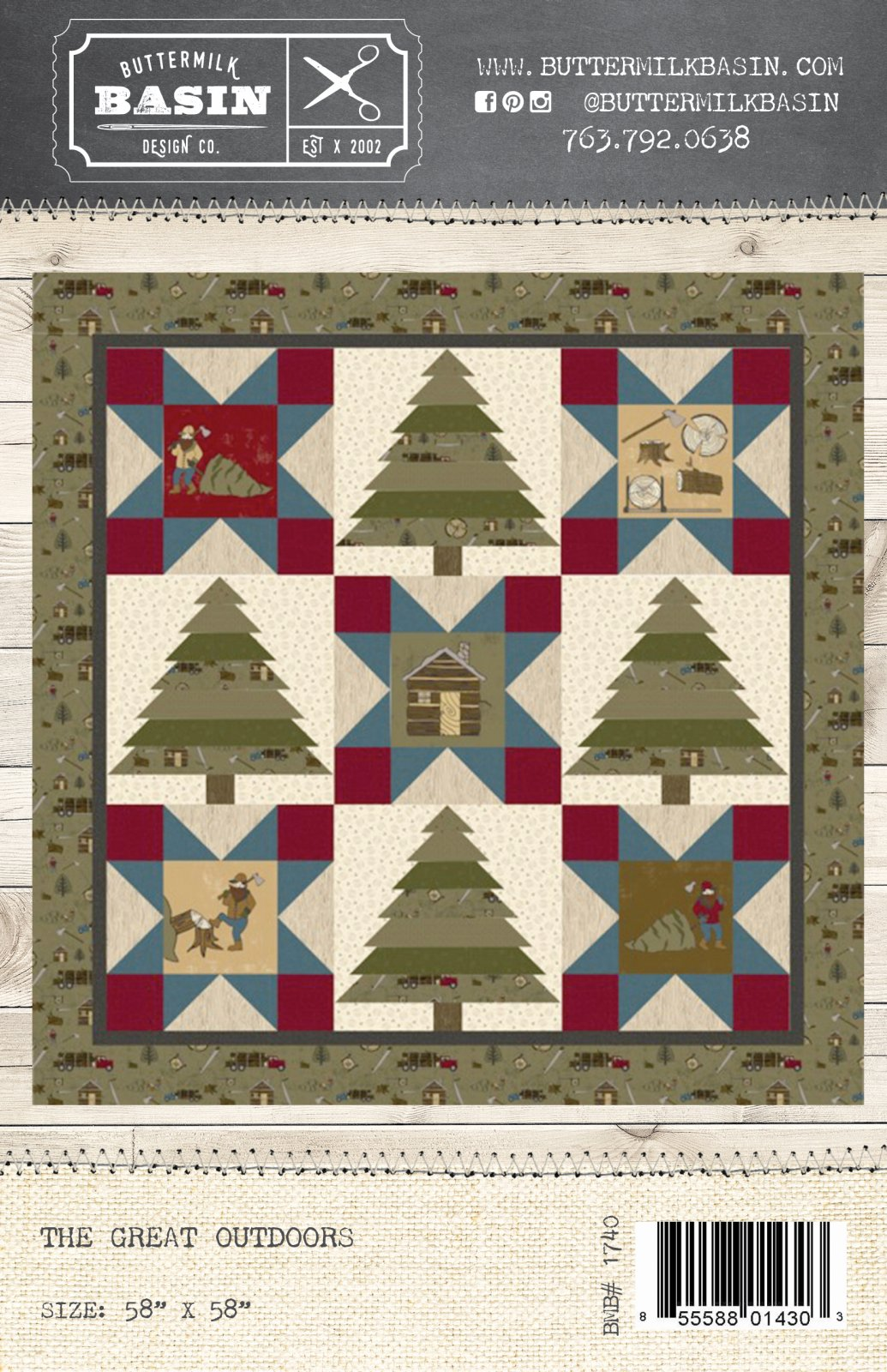 The Great Outdoors Quilt *Pattern