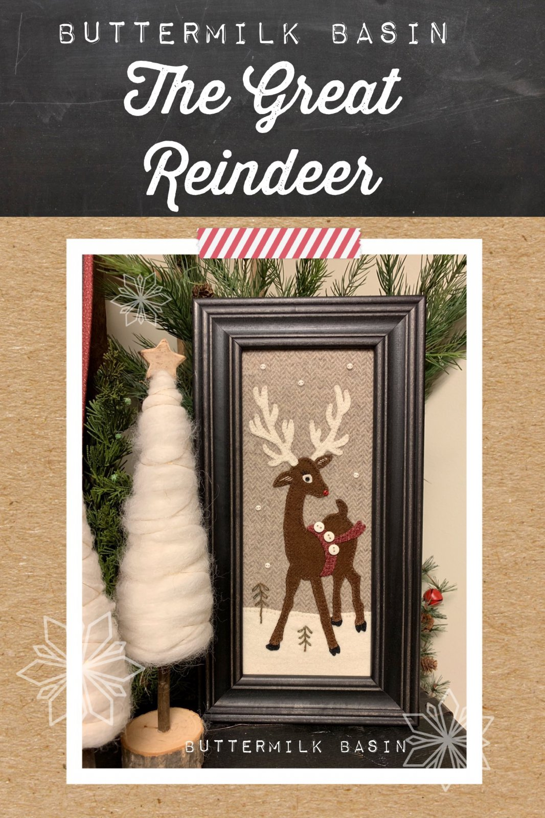The Great Reindeer *Pattern & Kit