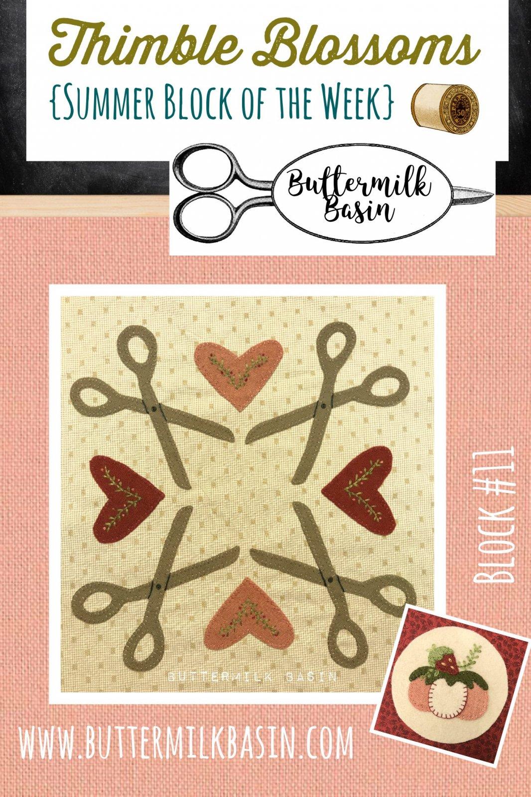 Thimble Blossoms Block #11 Kit & Pattern