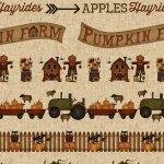 Buttermilk Basin's Pumpkin Farm 2051-44 * 1 yard