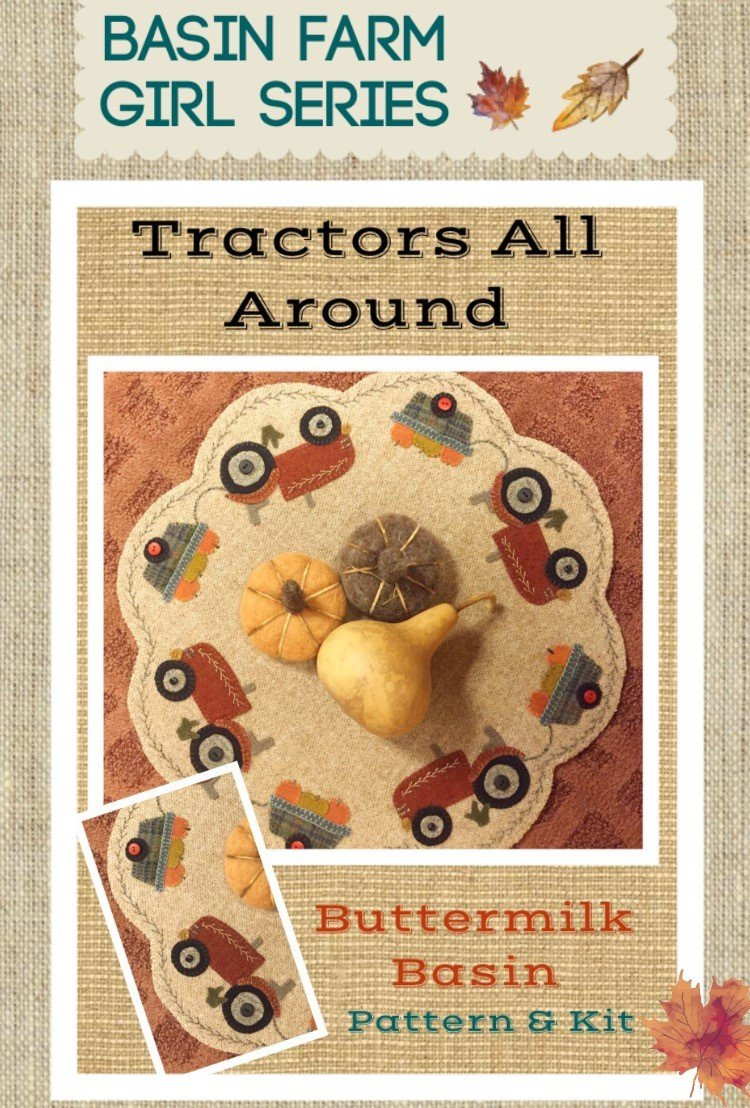 Tractors All Around * KIT & Pattern