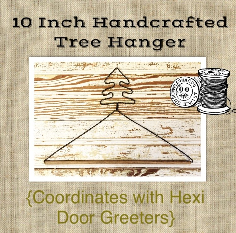 10 Inch Handcrafted Tree Hanger