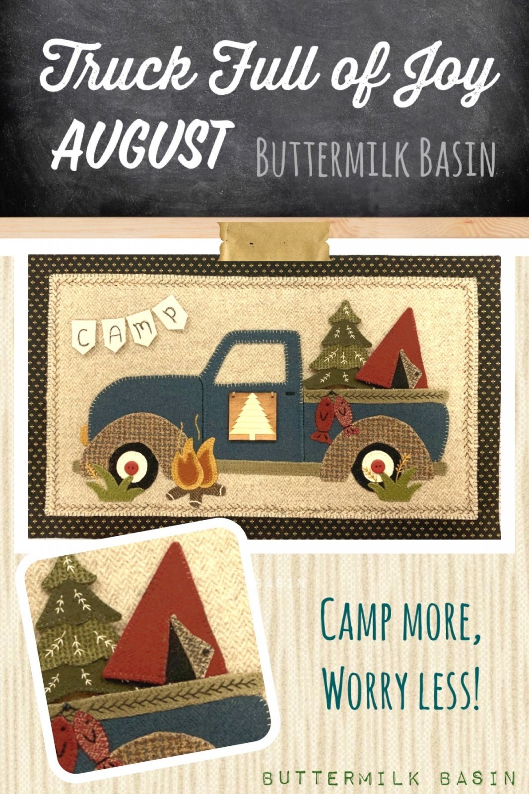 Trucks Full of Joy * August Kit & Pattern