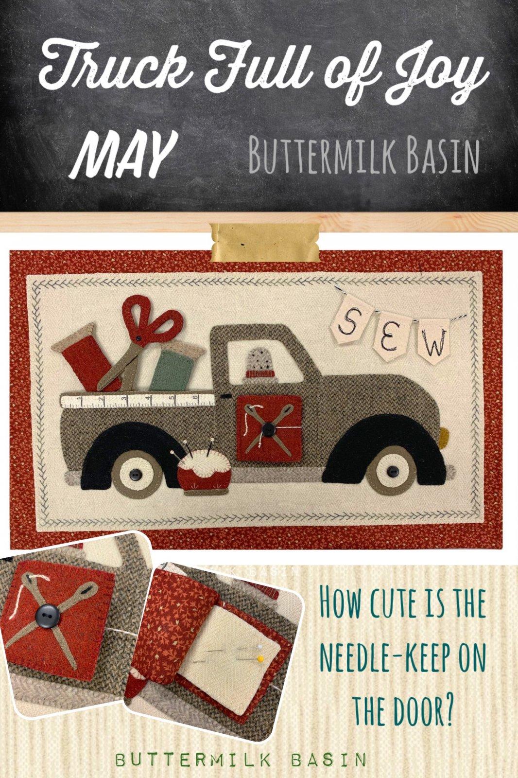 Trucks Full of Joy *May Pattern & Kit