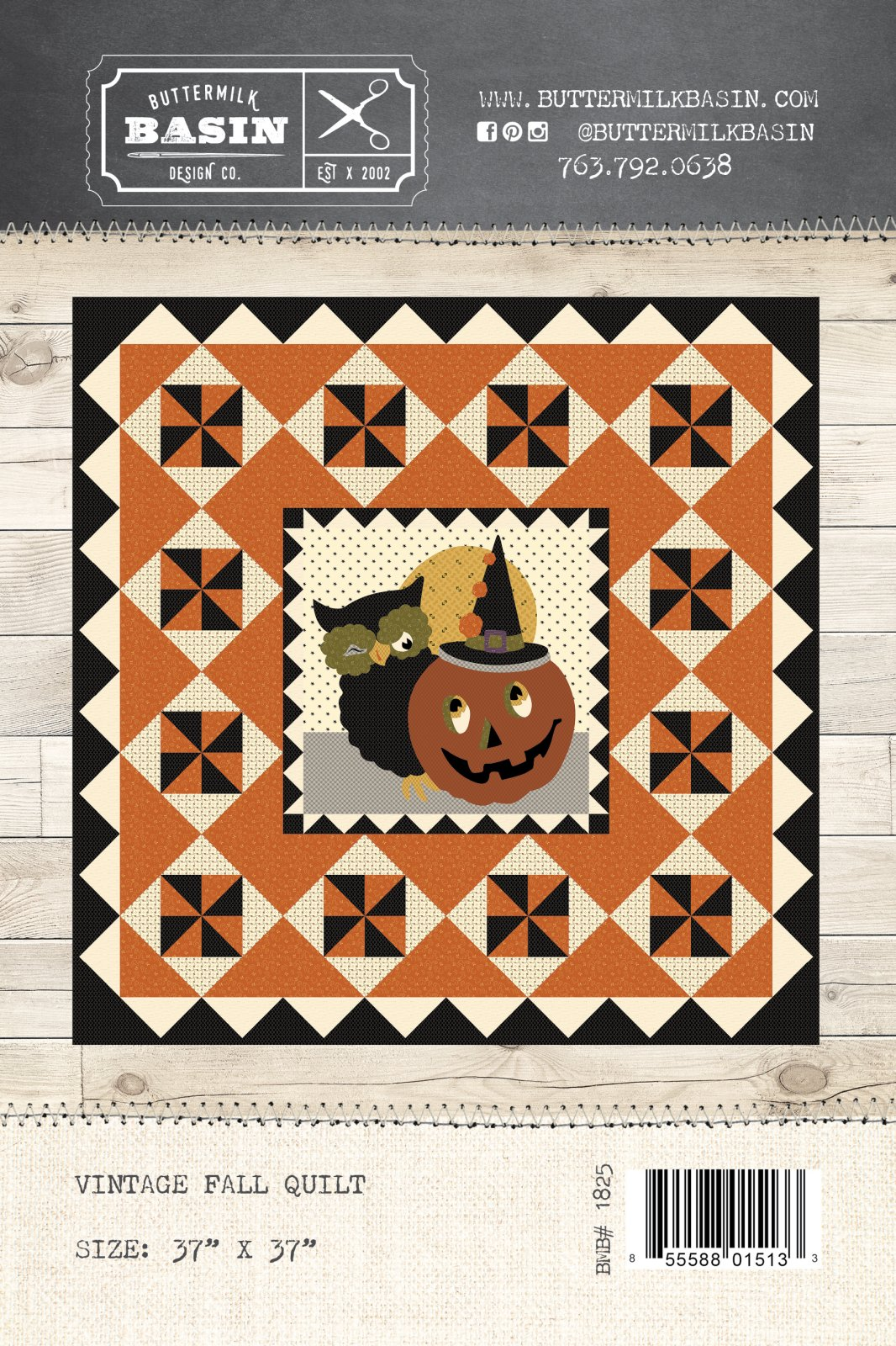 Vintage Fall Quilt * Pattern