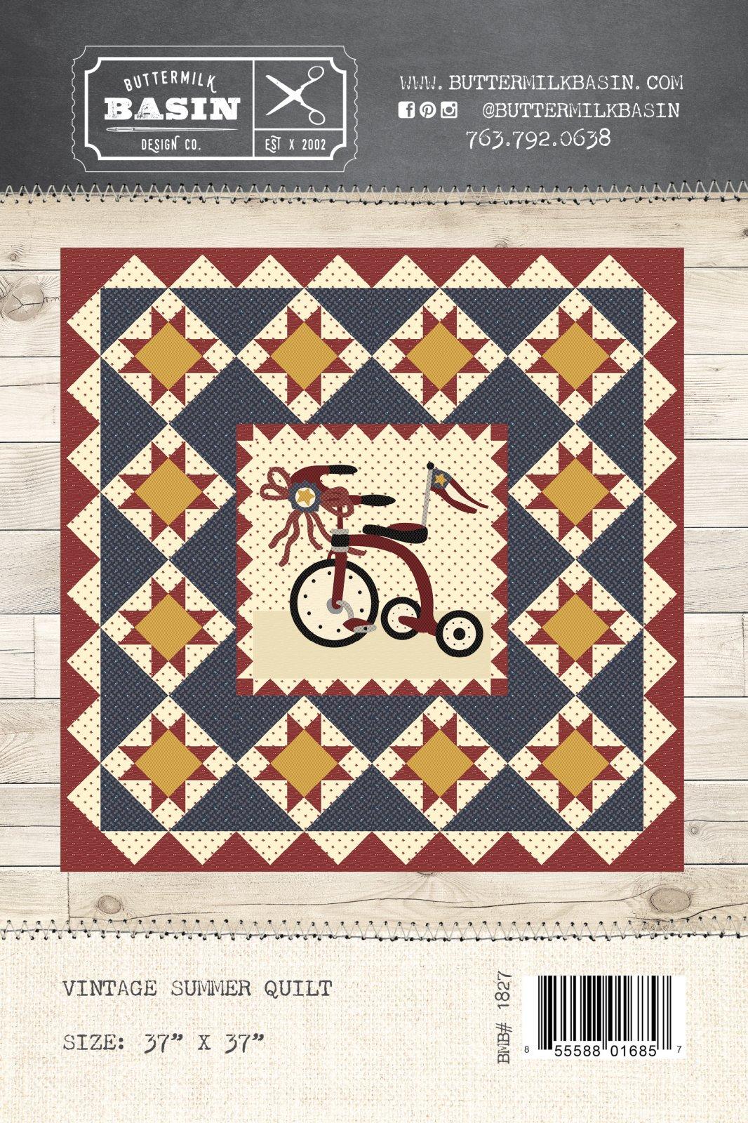 Vintage Summer Quilt * Pattern