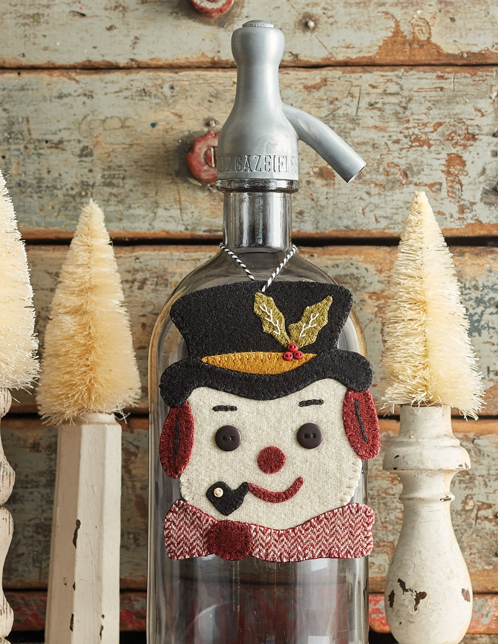 Buttermilk Basin's Vintage Vibe * Vintage Frosty Ornament Kit