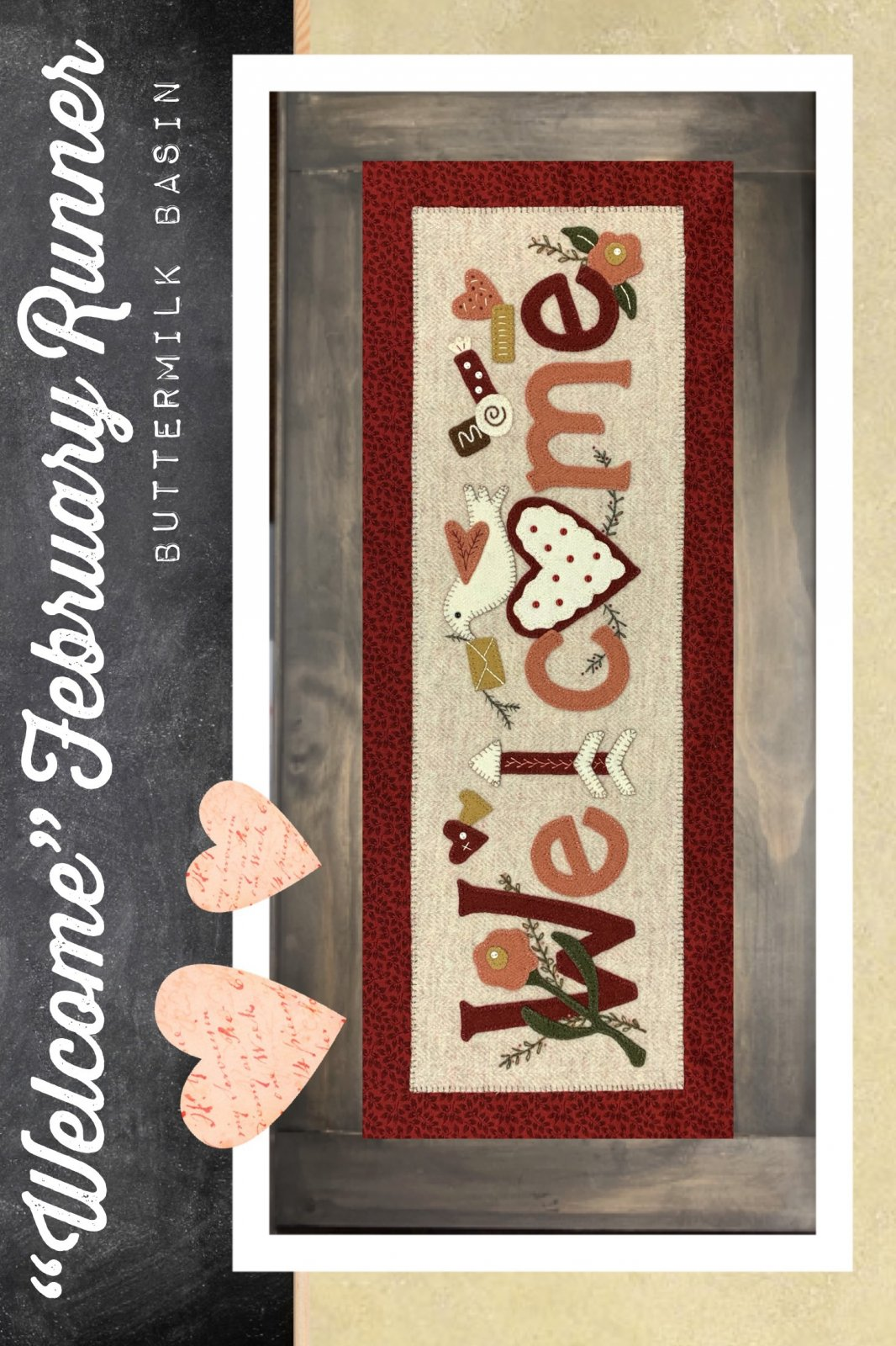 Welcome February Runner * Pattern