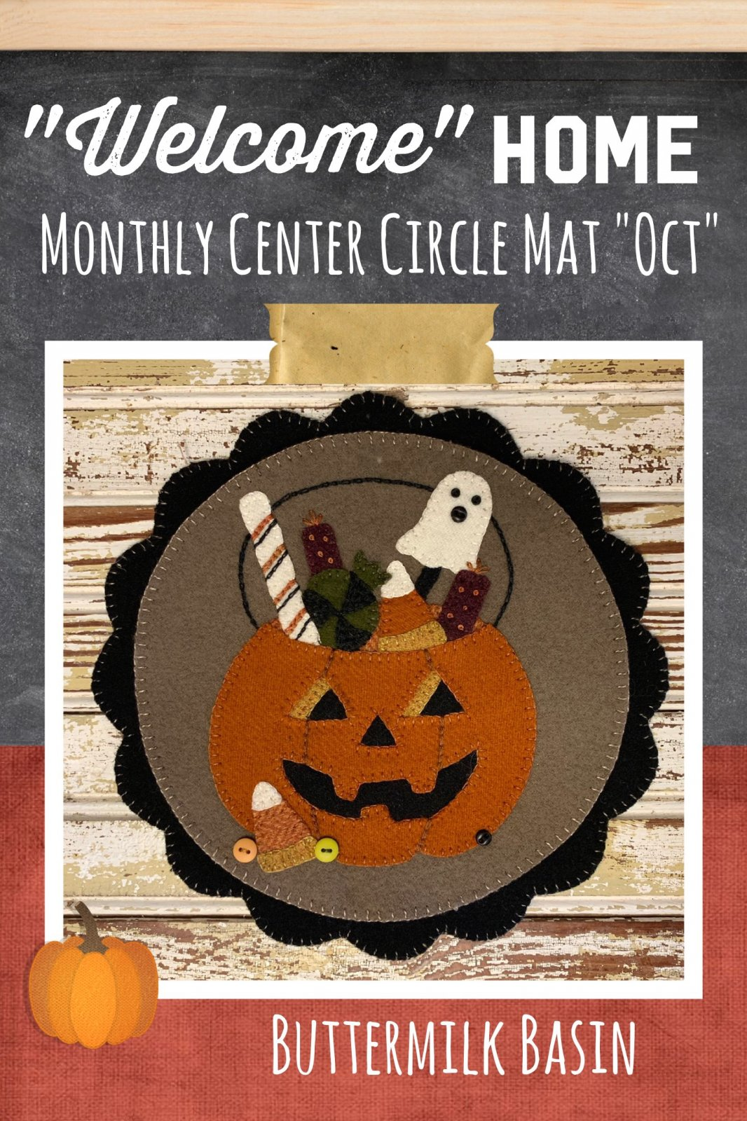 Welcome HOME October Center Circle KIT & Pattern