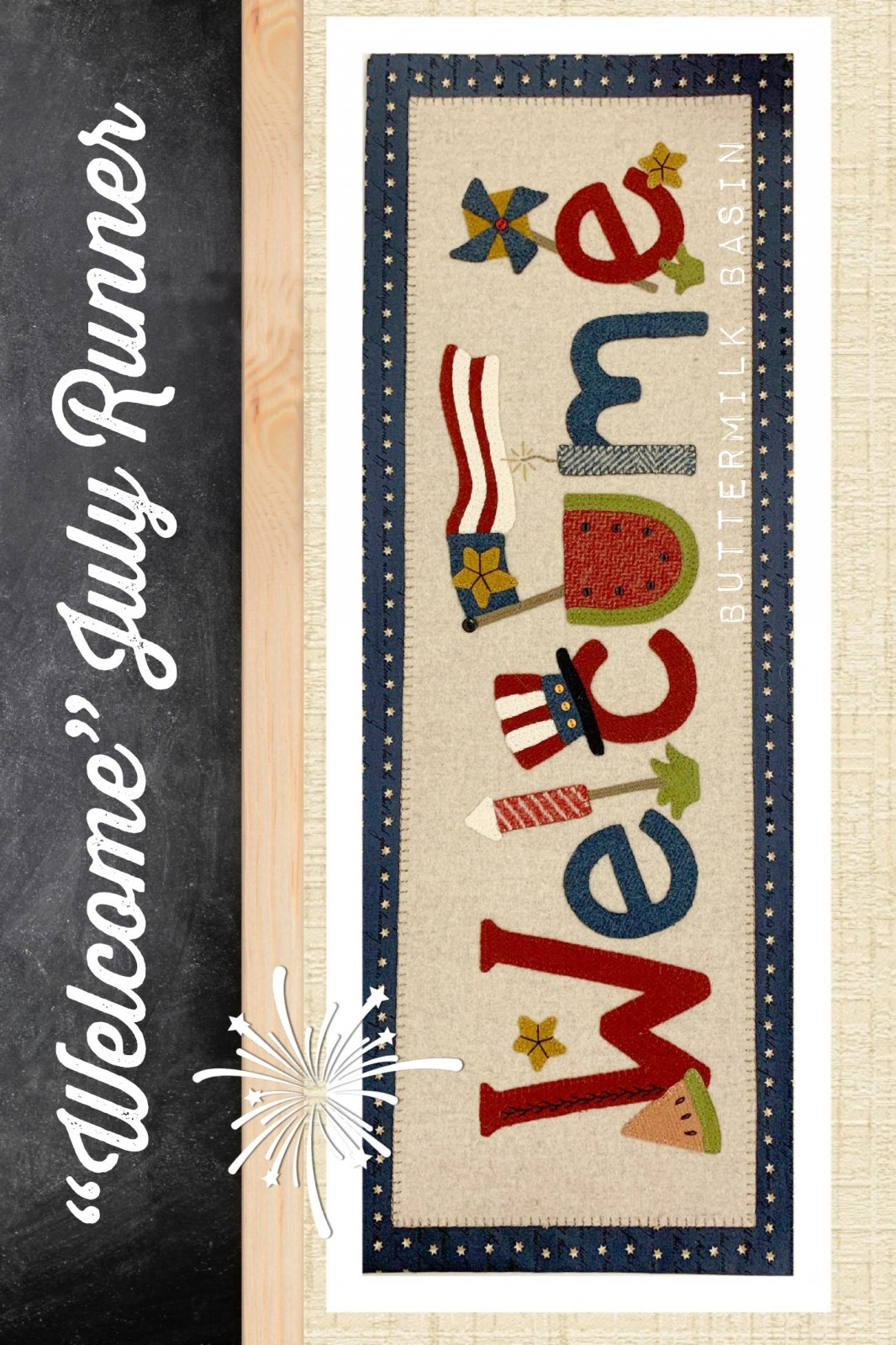 Welcome July Runner * Pattern