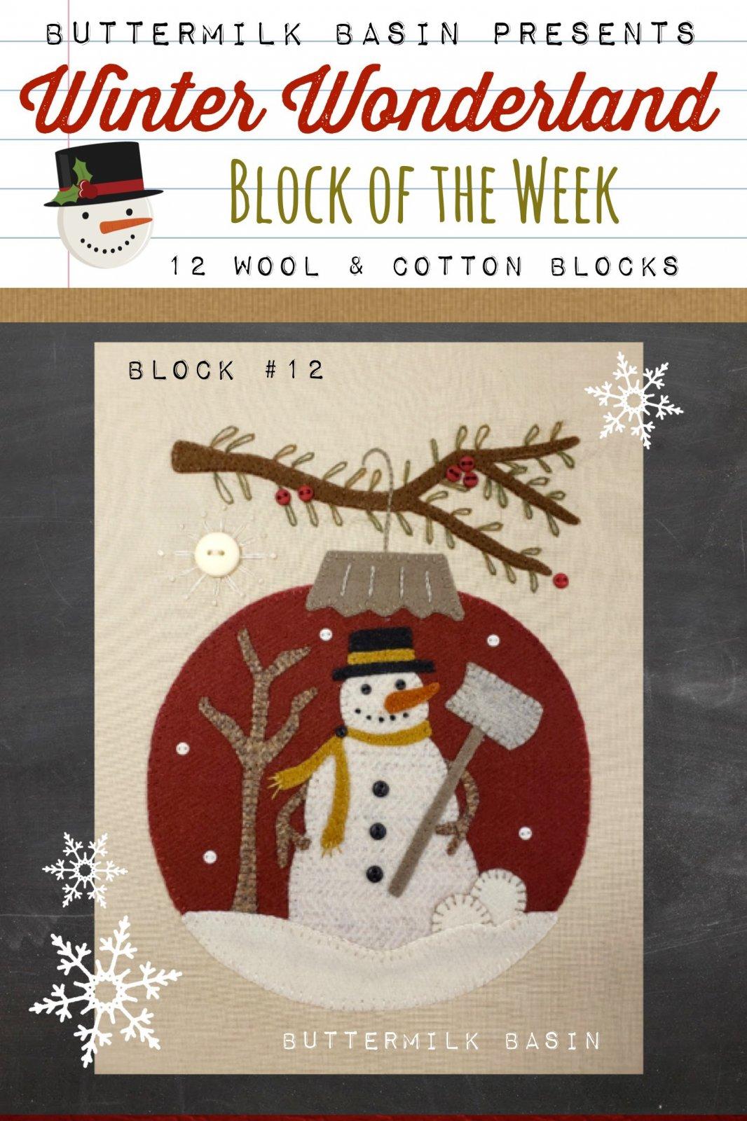 Winter Wonderland Block #12 *Kit & Pattern